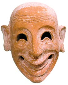 maschera fenicia