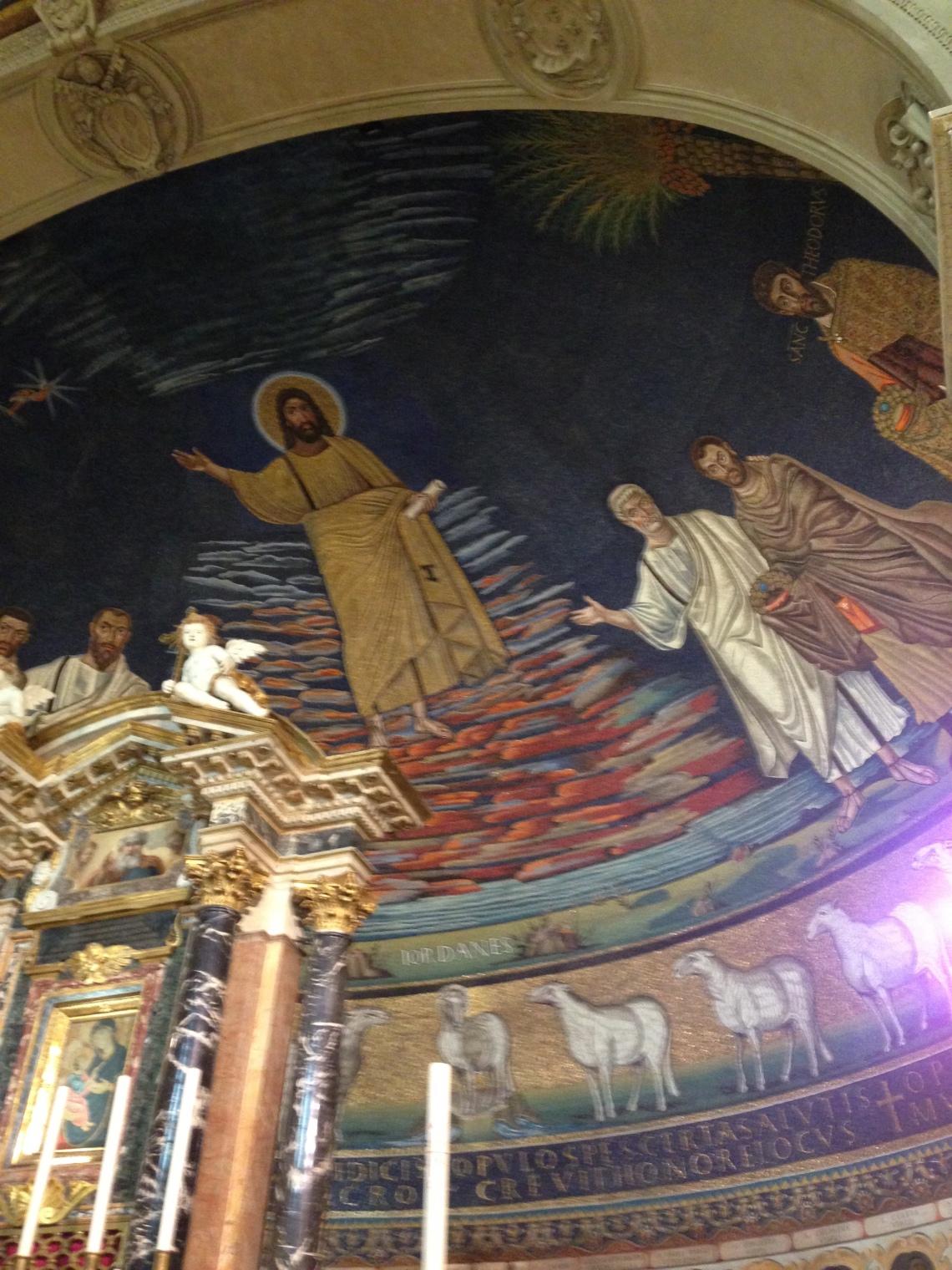 Mosaici bizantini a Roma
