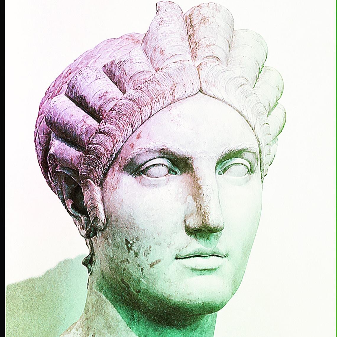 Ritratto di Salonina Matidia suocera di Adriano