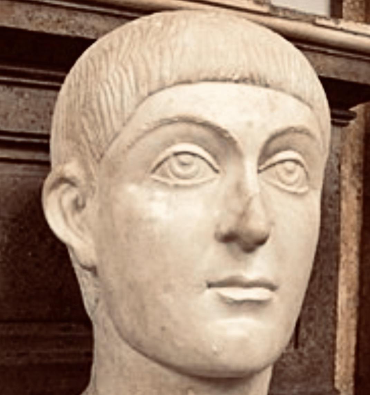 Busto dell'imperatore Onorio