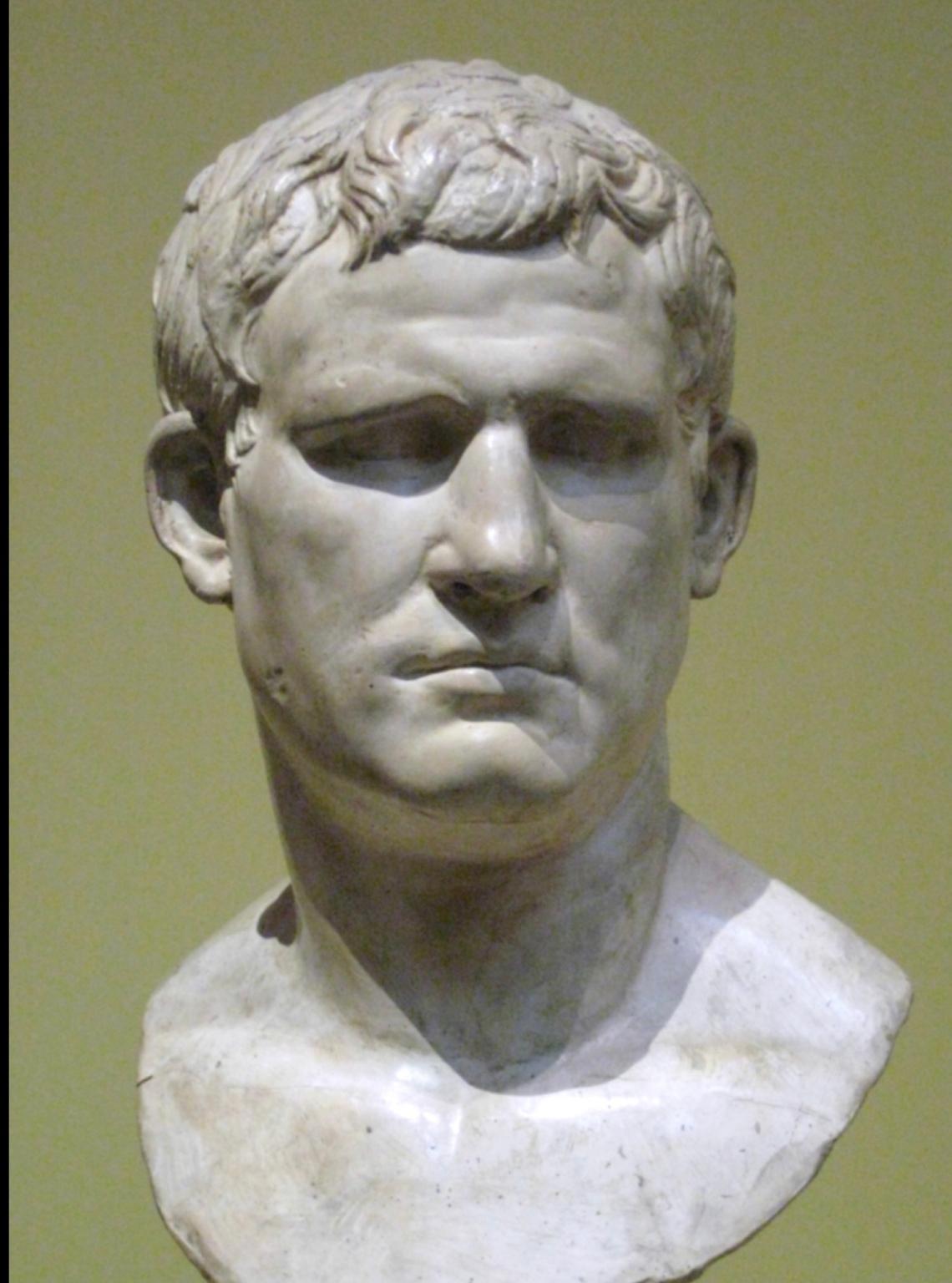 Ritratto di Marco Vipsanio Agrippa, padre di Agrippa Postumo