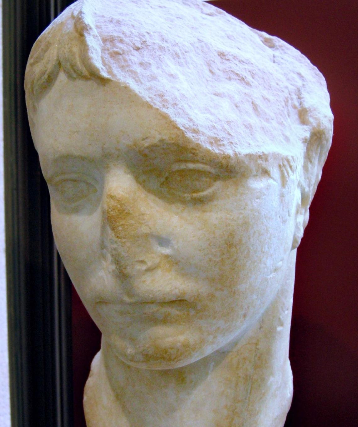 Ritratto di Agrippa Postumo fonte Wikipedia