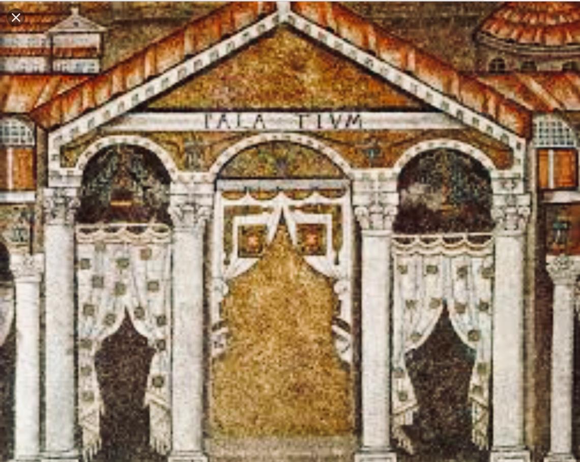 Ravenna mosaico palazzo di Teodorico