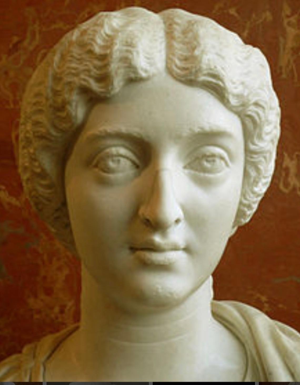 Busto di Faustina imperatrice, moglie di Marco Aurelio e madre di Commodo