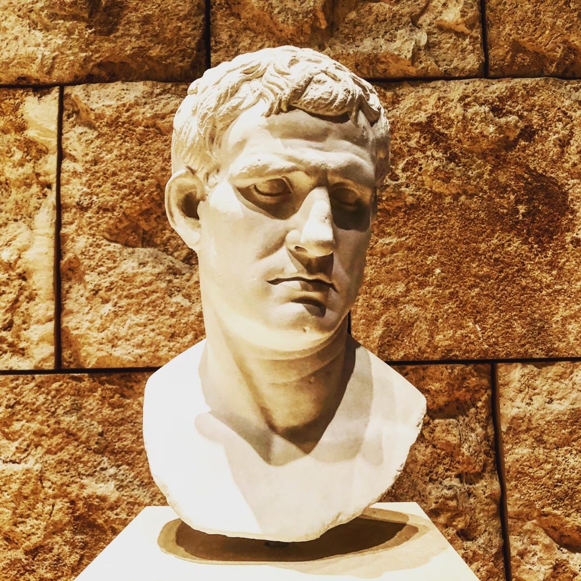 Ritratto di Agrippa, Ara Pacis. Foto Galatea Vaglio
