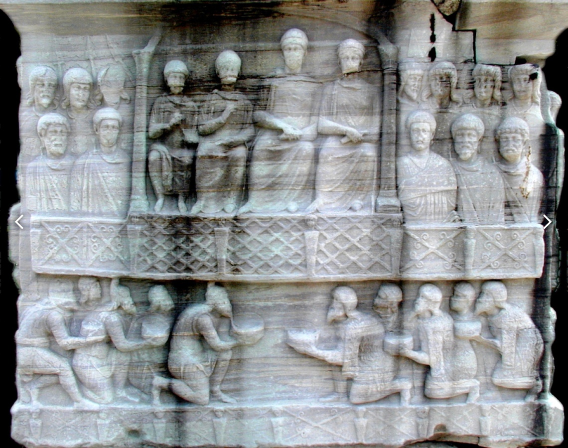 Basamento obelisco di Teodosio I