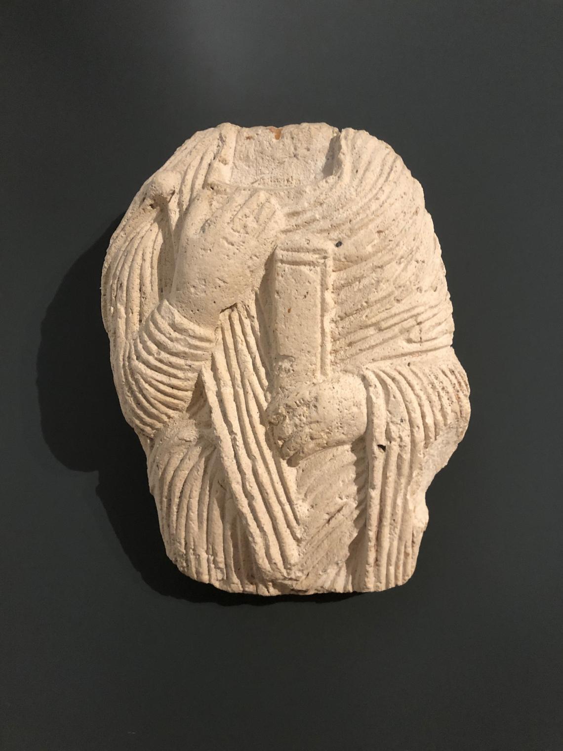 Museo di Brescia Santa Giulia, santo di età carolingia