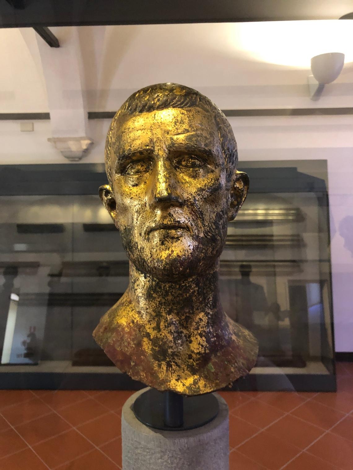 Ritratto di Aureliano, musei di Brescia