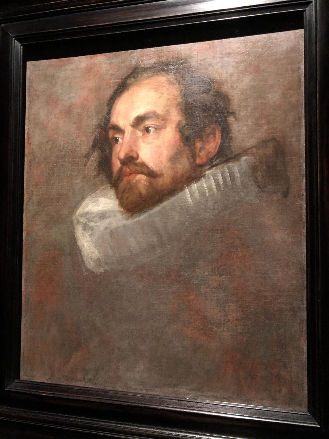 Van Dyck, studio per ritratto di funzionario di Bruxelles