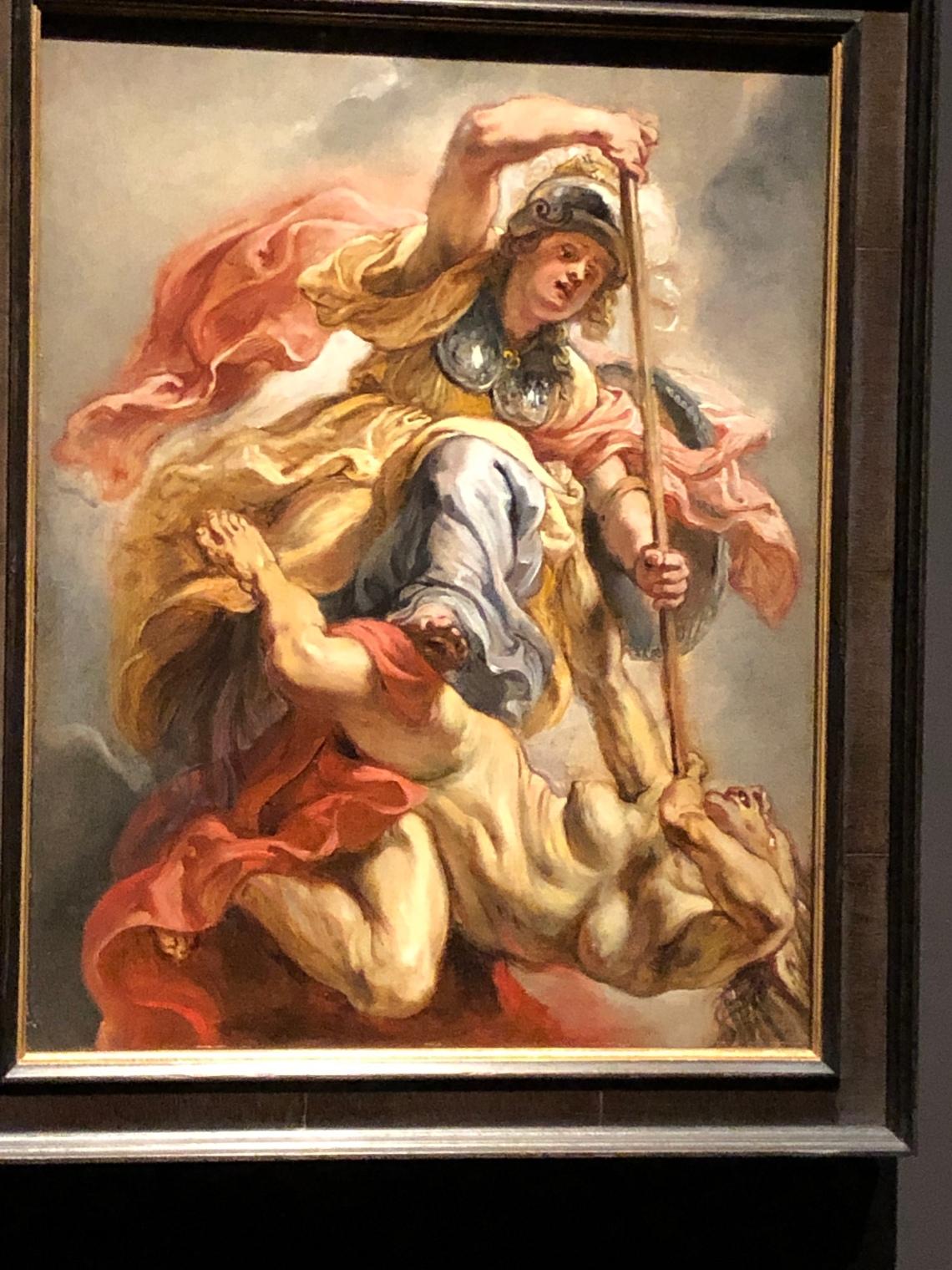 Atena sconfigge l'ignoranza, mostra da Tiziano a Rubens