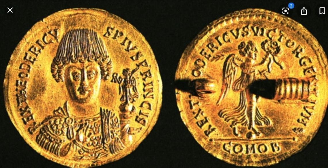 Medaglione di Teodorico re dei Goti