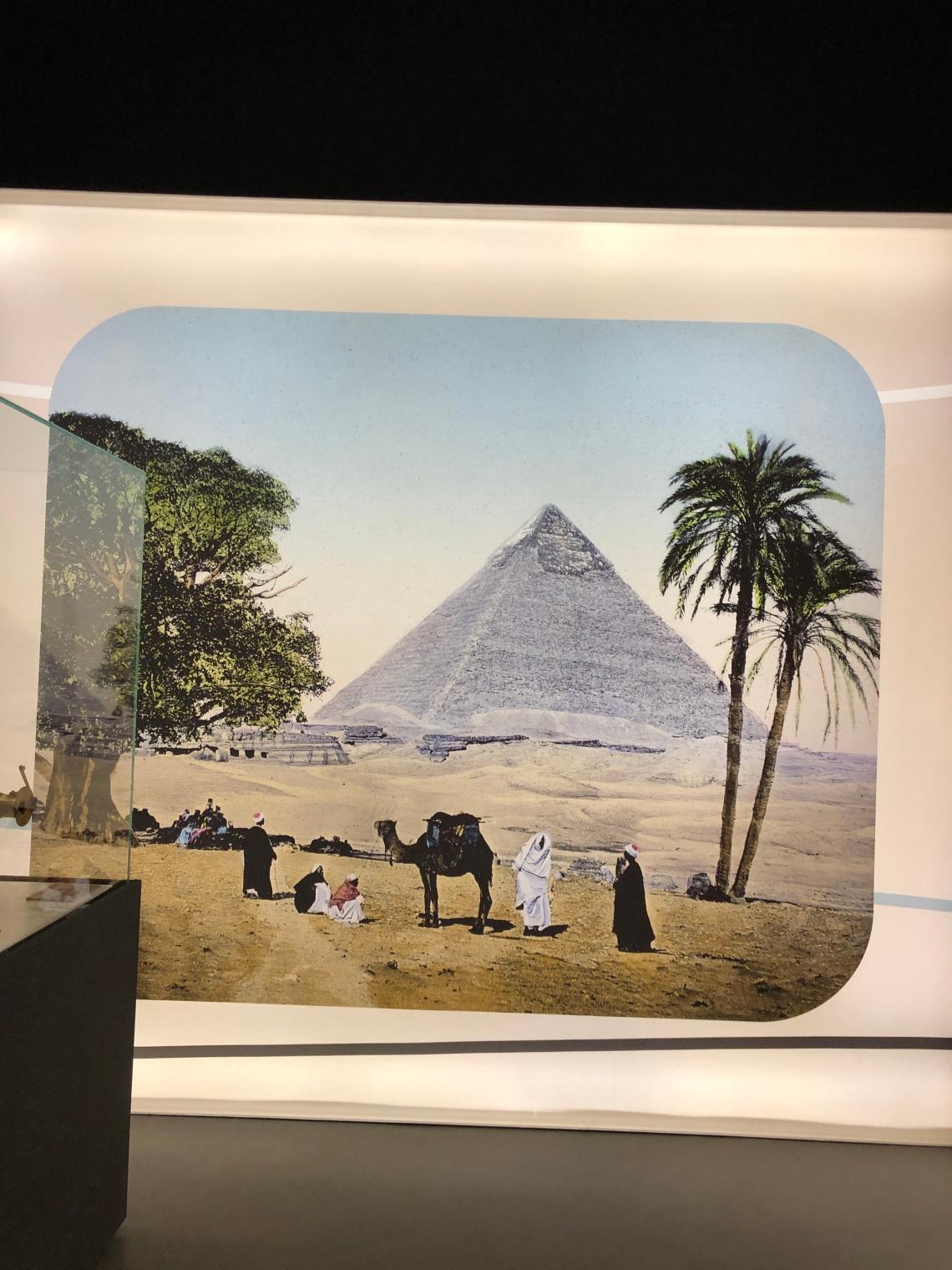 Vista delle piramidi